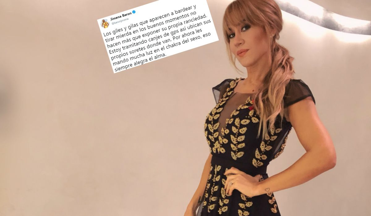 Jimena Barón le respondió a Feinmann y a los haters