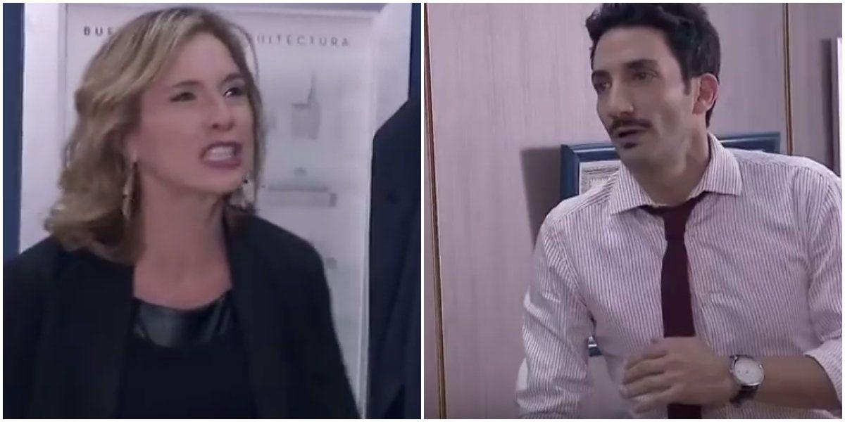 100 días para enamorarse: dramática escena de Carla Peterson, furiosa con Juan Minujín