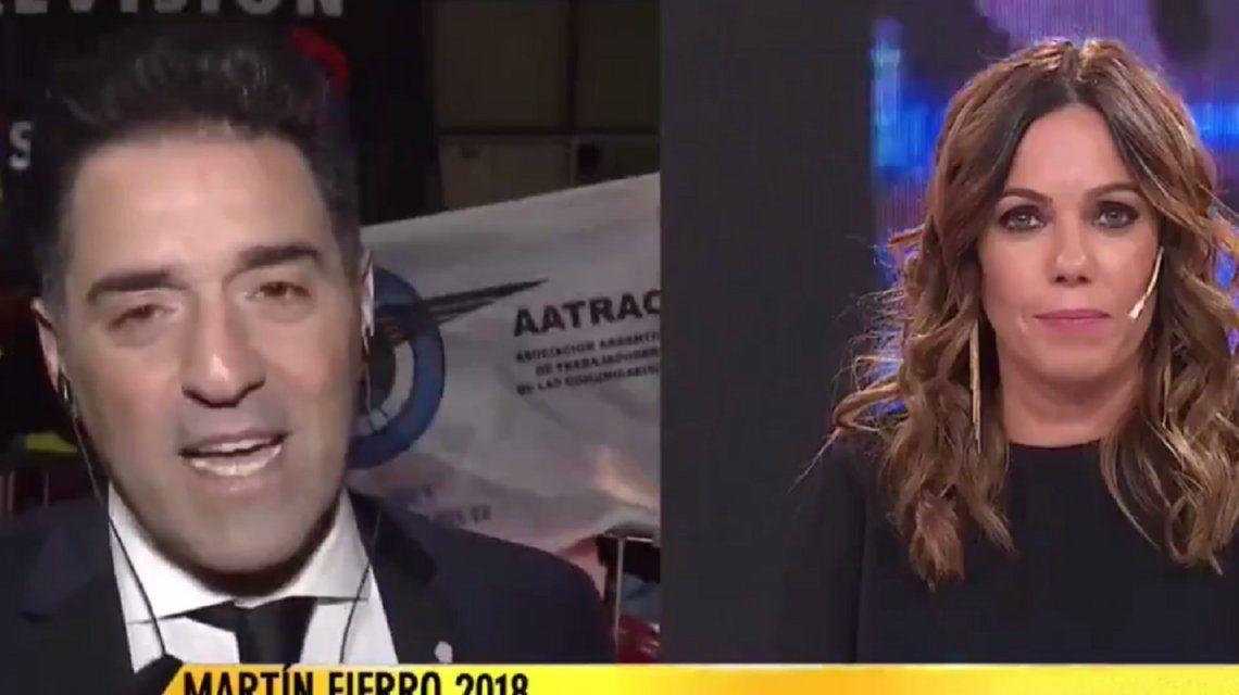 Mariano Iúdica le pidió disculpas a Pía Shaw en vivo
