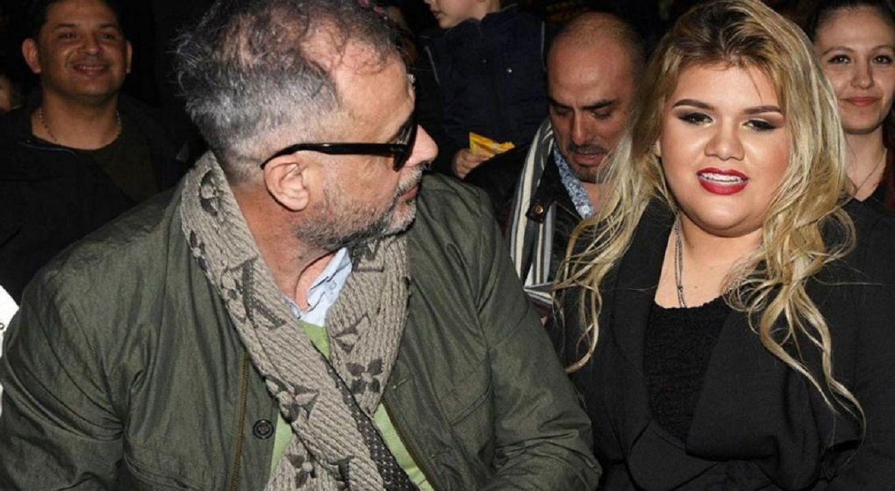 Jorge Rial junto con su hija Morena
