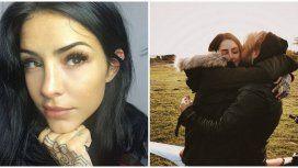 Las fotos románticas de Cande Tinelli con su nuevo amor