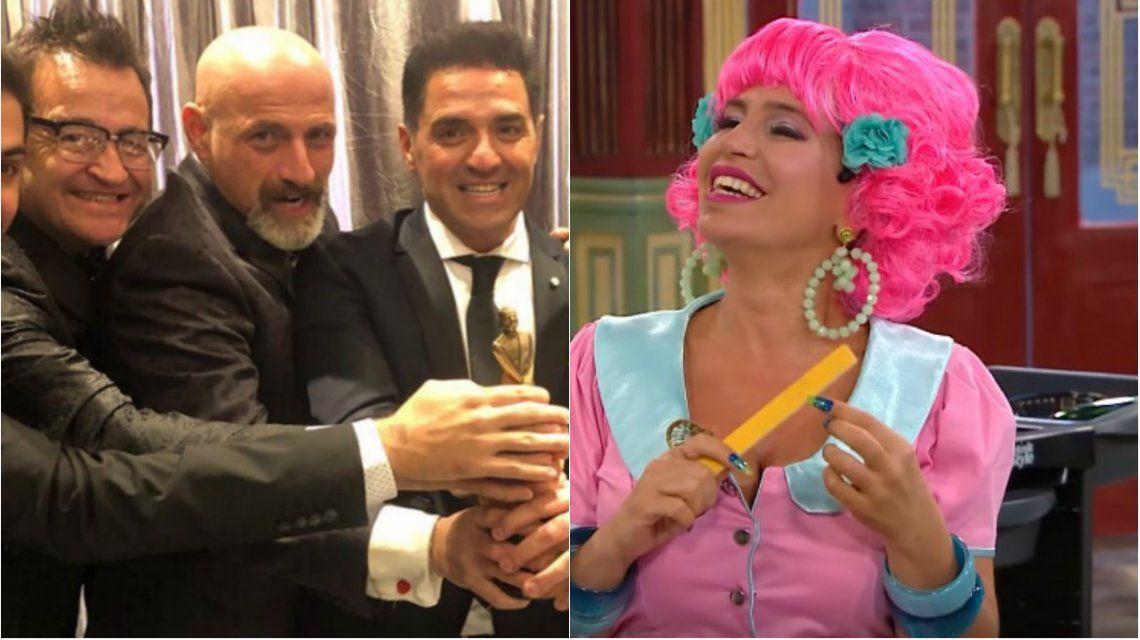 Sofovich le recordó a Flor Peña su participación en La Peluquería de Don Mateo