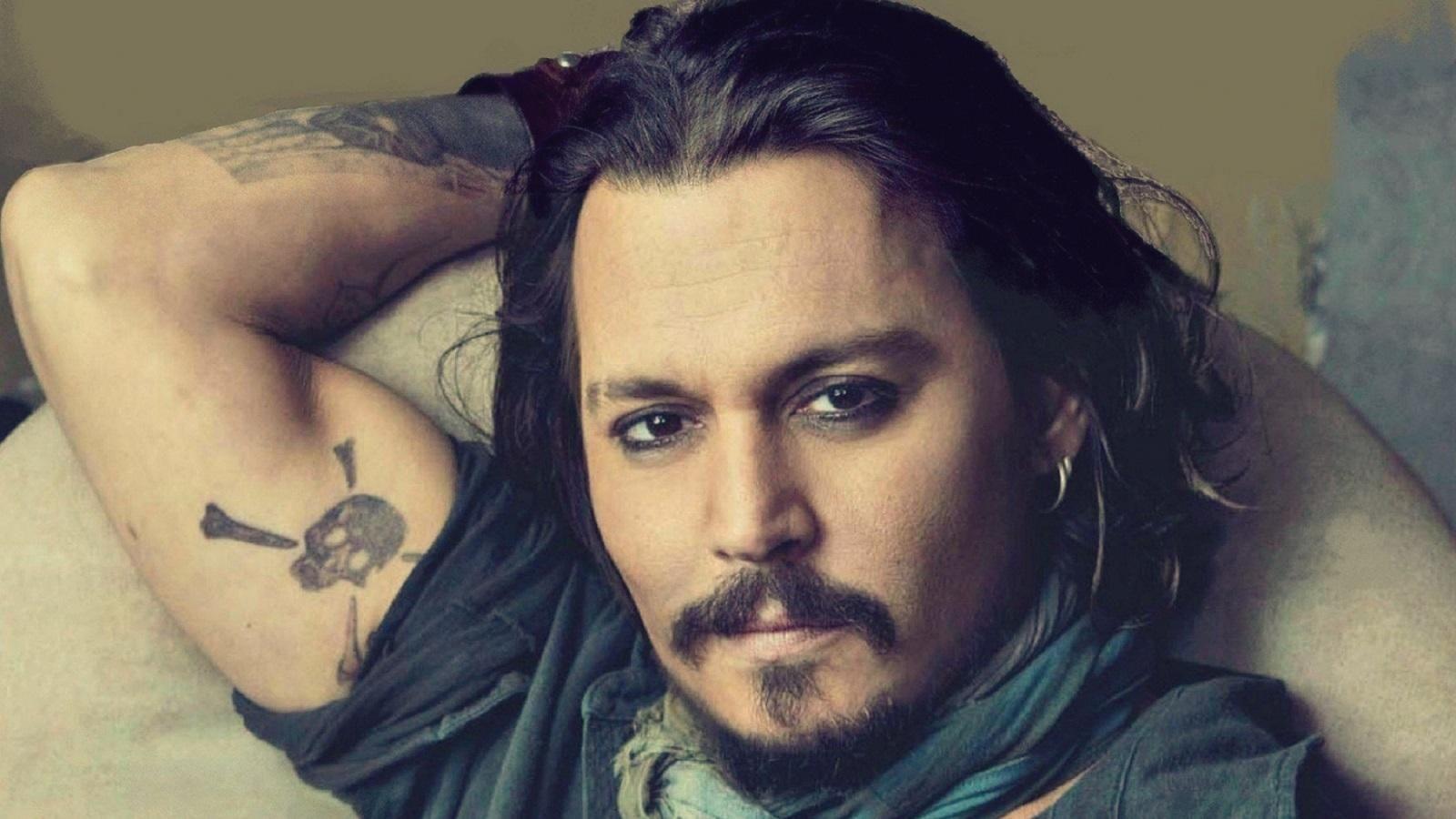 Johnny Depp en su época dorada