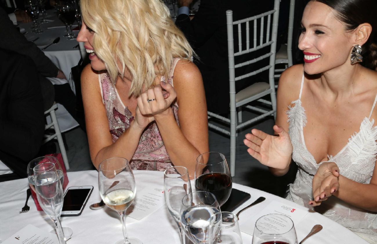 Los looks de los famosos en una cena a beneficio de la Fundación Huesped