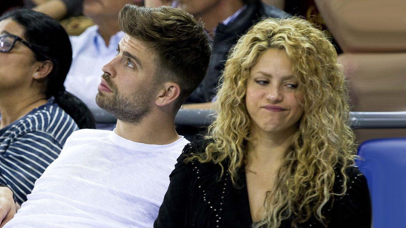Mal momento para Piqué y Shakira
