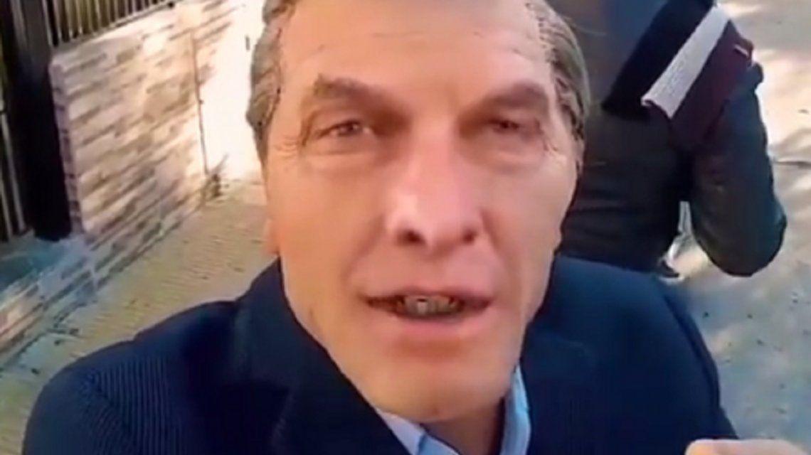 A lo Chapu Martínez: el desopilante video de Macri cantando el hit del momento