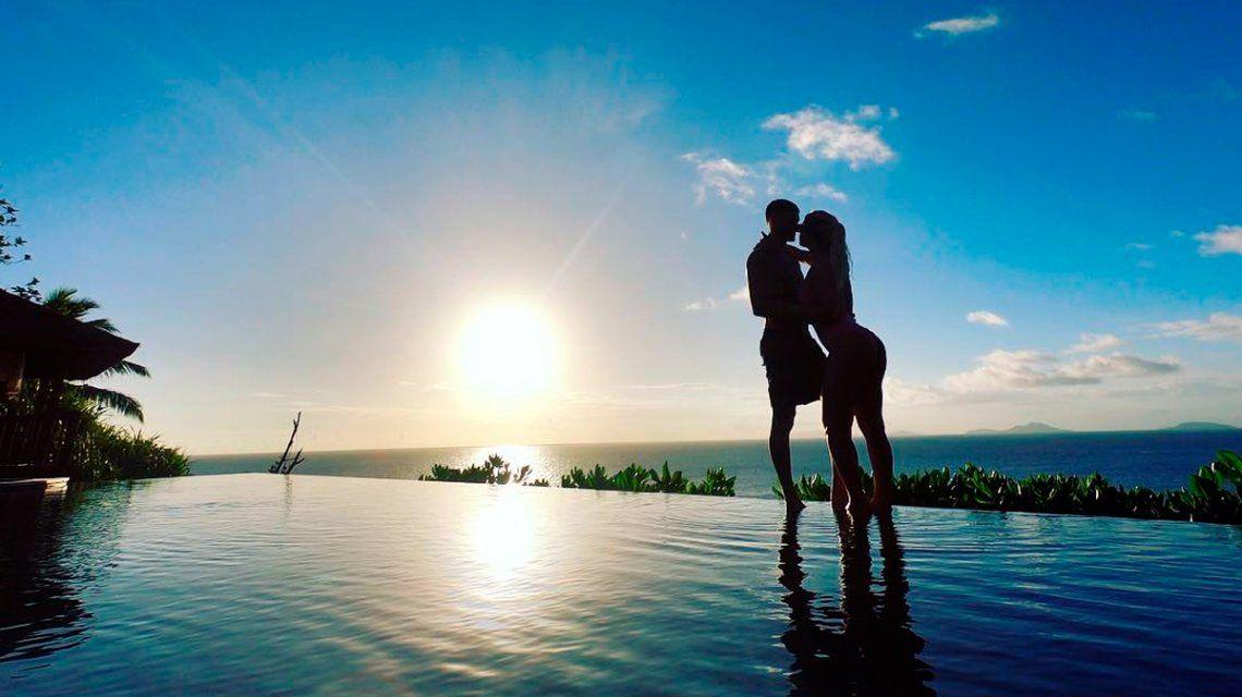 Wanda y Mauro en Seychelles