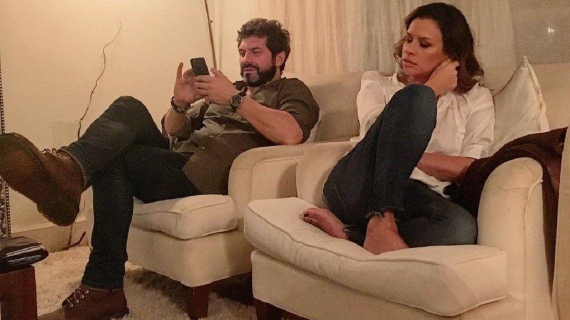 Iván Noble y Julieta Ortega