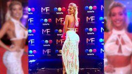 El vestido de Sol Pérez que fue duramente criticado
