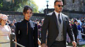 Victoria y David en la Boda Real