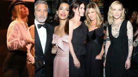 Los famosos en la gala de AVI