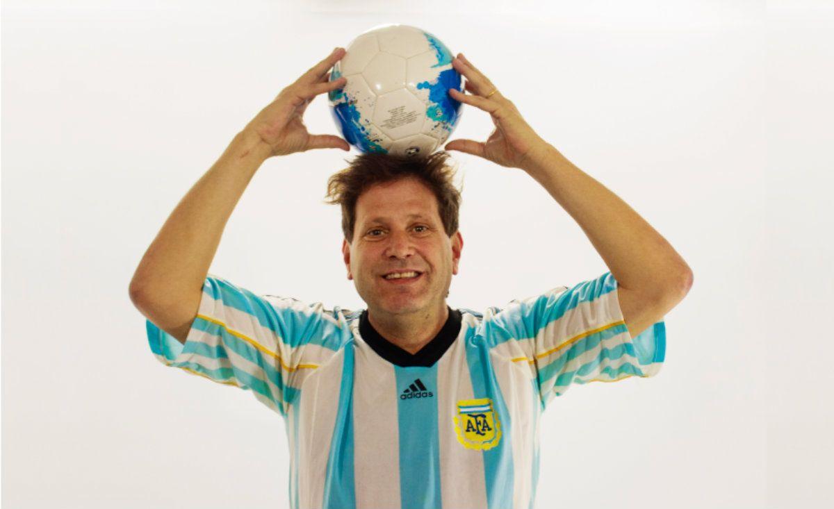 Bebe Contepomi viaja a Rusia para contarle todo sobre la copa a los argentinos