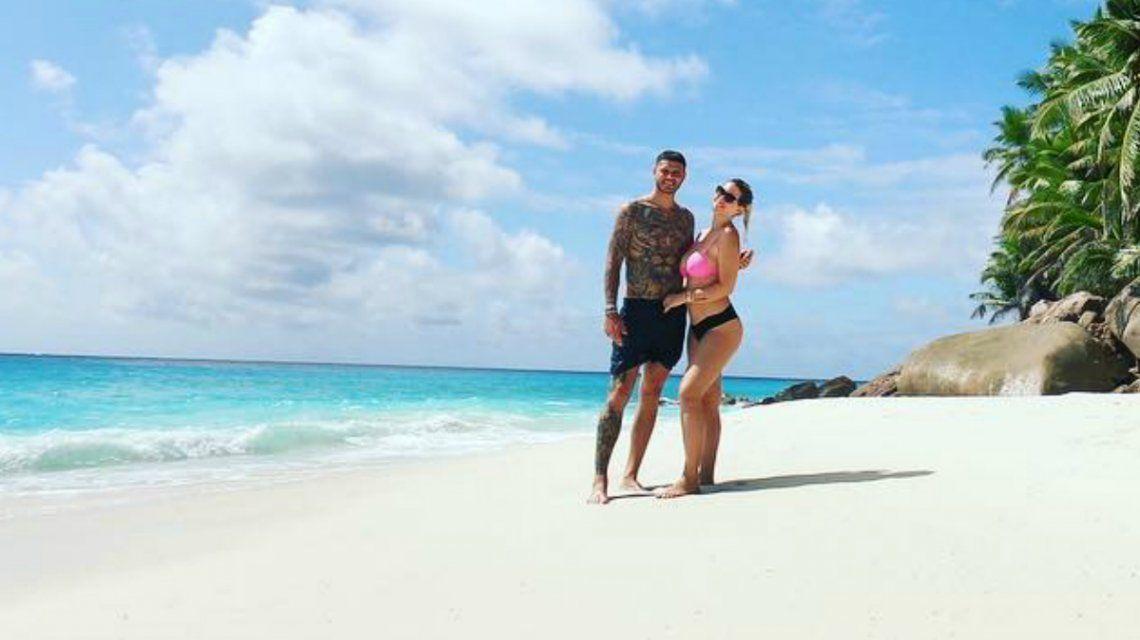 Wanda Nara y Mauro Icardi en Seychelles