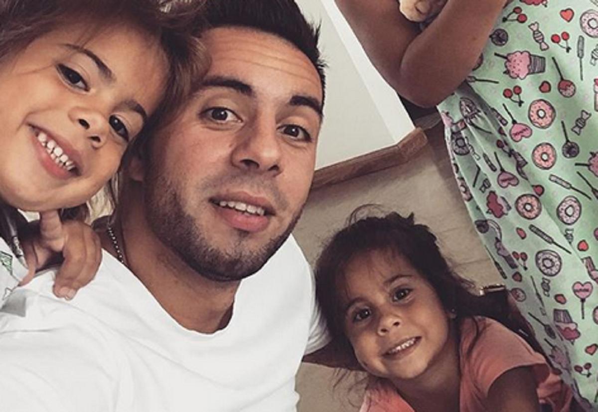 Matías Defederico, melancólico por un gesto de amor de su hija: No puedo parar de mirarte y llorar