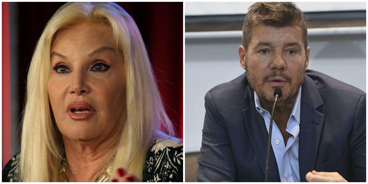 Susana Giménez y Marcelo Tinelli