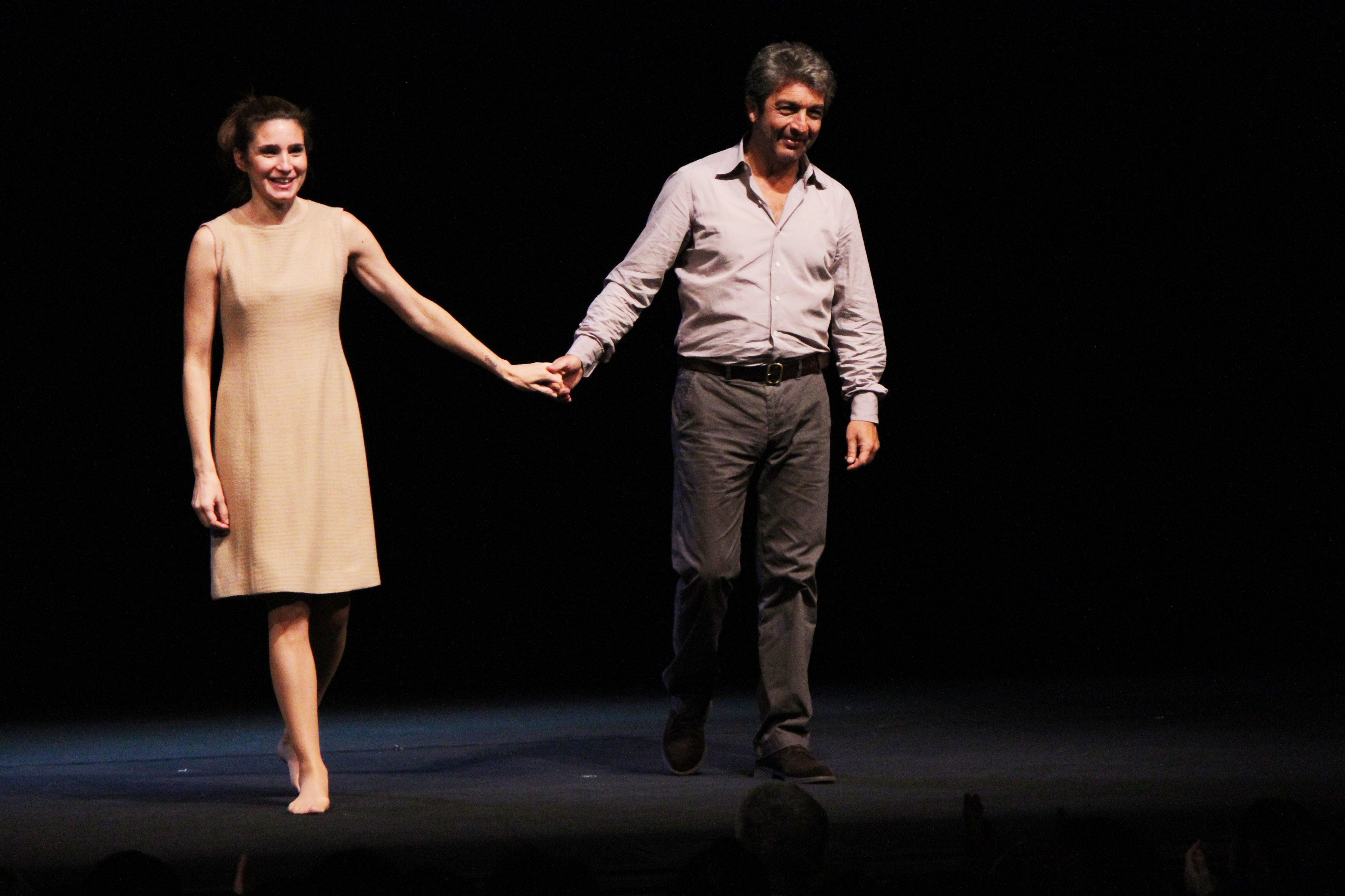 Valeria Bertuccelli y Ricardo Darín
