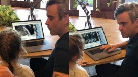 La hija de Robbie Williams prefiere a Beyoncé