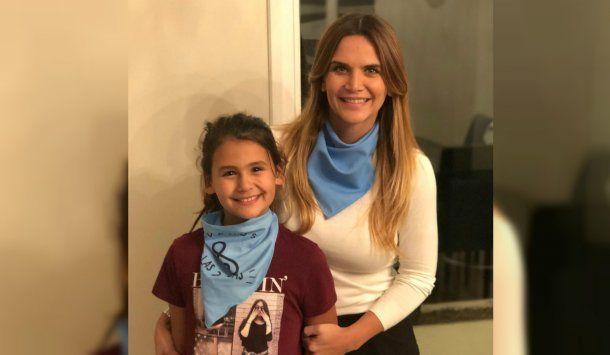 Amalia y su hija Uma <br>