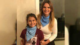 Amalia y su hija Uma