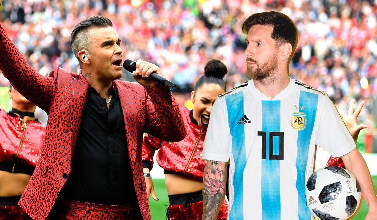El look de Robbie Williams