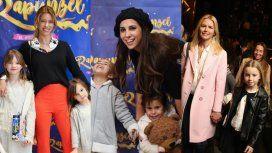 Nicole, Cinthia y Valeria a puro teatro con sus hijas