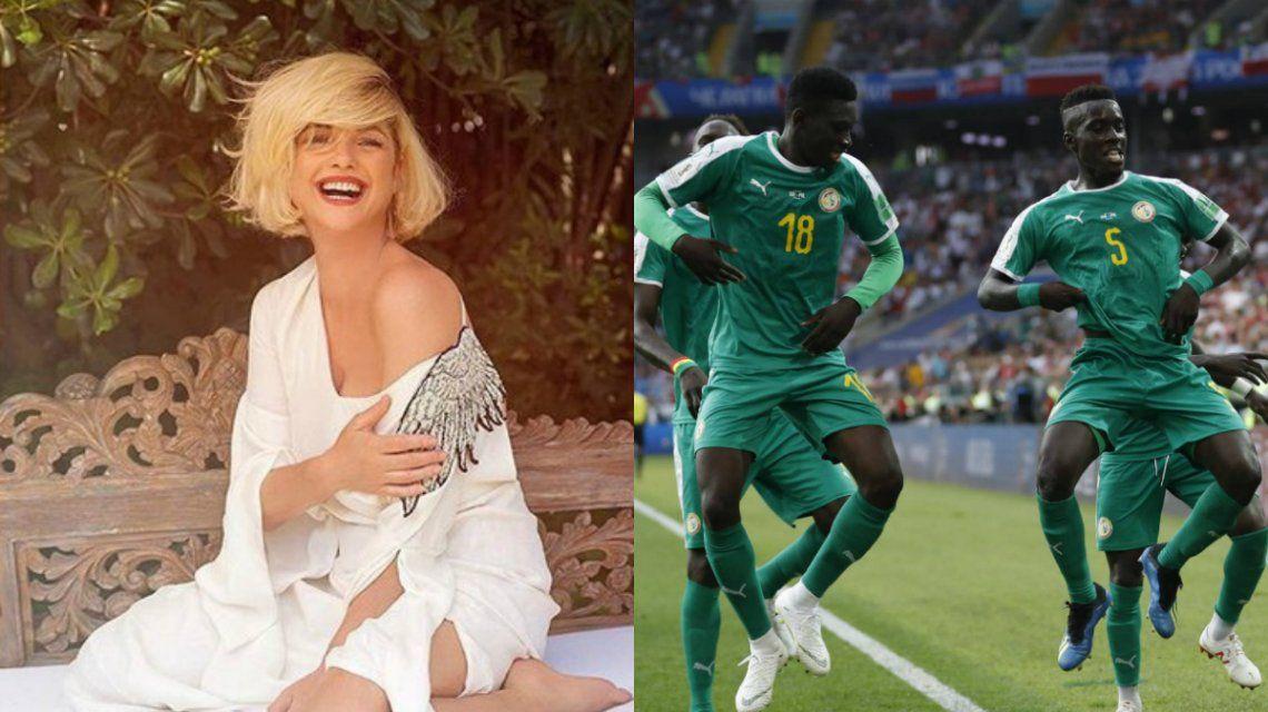 Araceli González apoya a Senegal