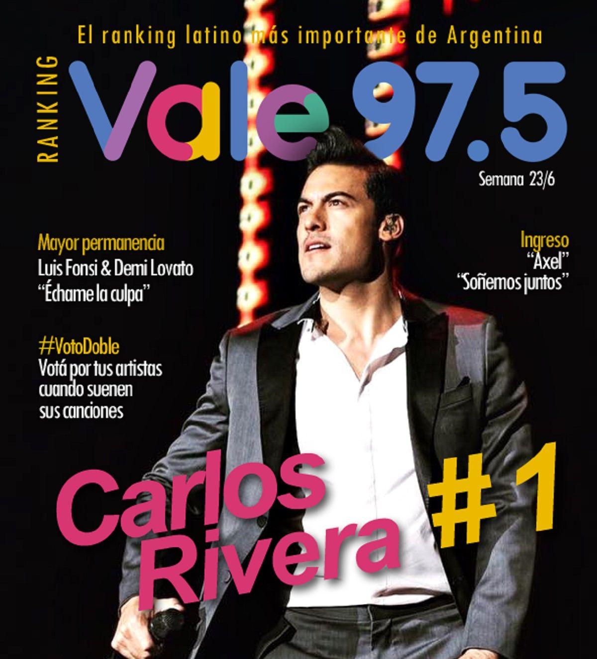Carlos Rivera, el hombre del momento del Ranking Vale