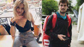 Stephanie Demner y Guido Pella, enamorados por Europa