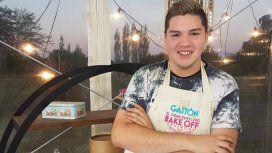 Gastón Salas, finalista de Bake Off