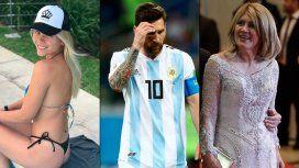 Macarena Lemos, ¿amante de Messi?