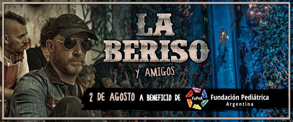 La Beriso y Amigos: un show a beneficio de la Fundación Pediátrica Argentina