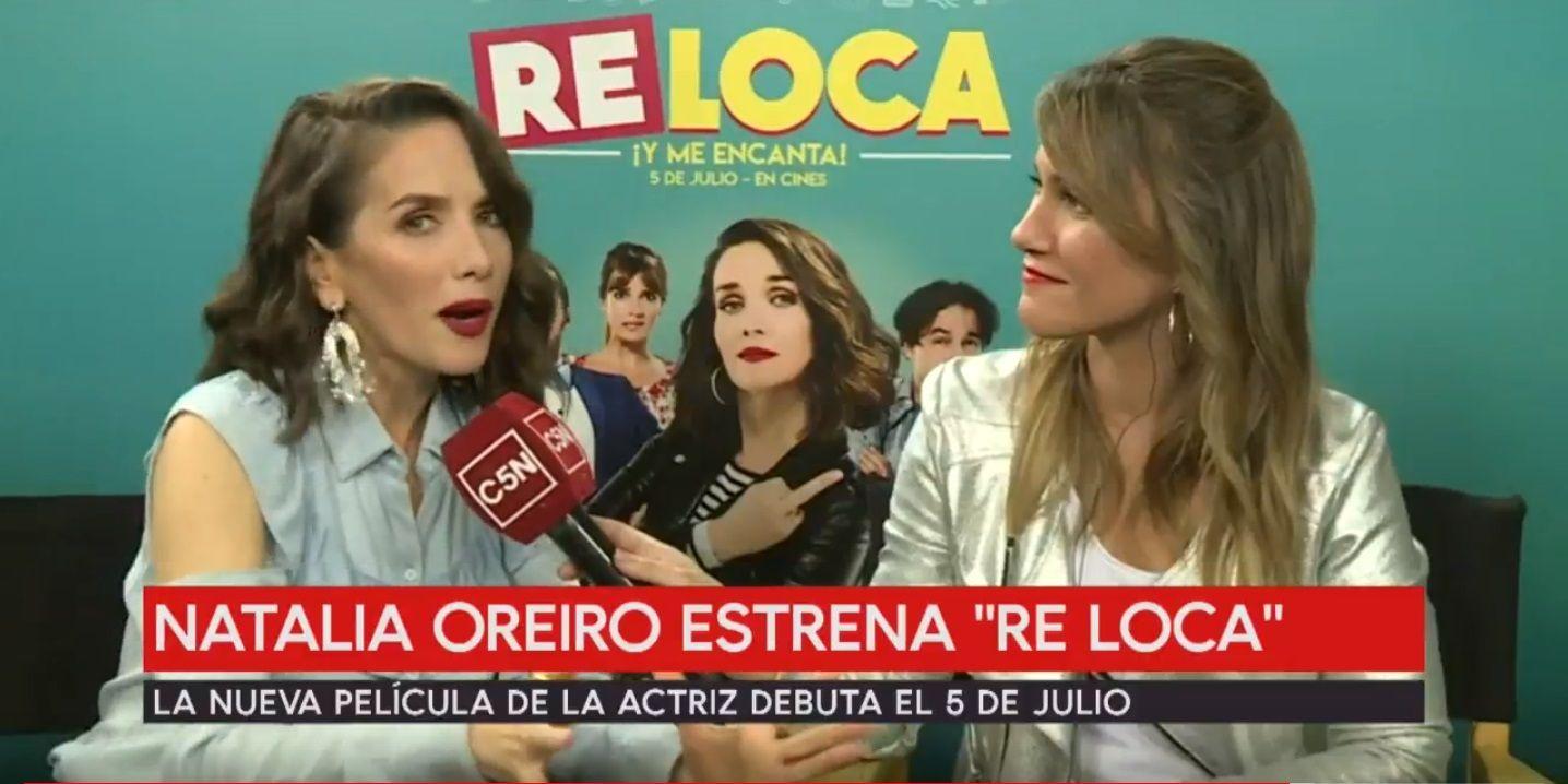 Natalia Oreiro habló de su película