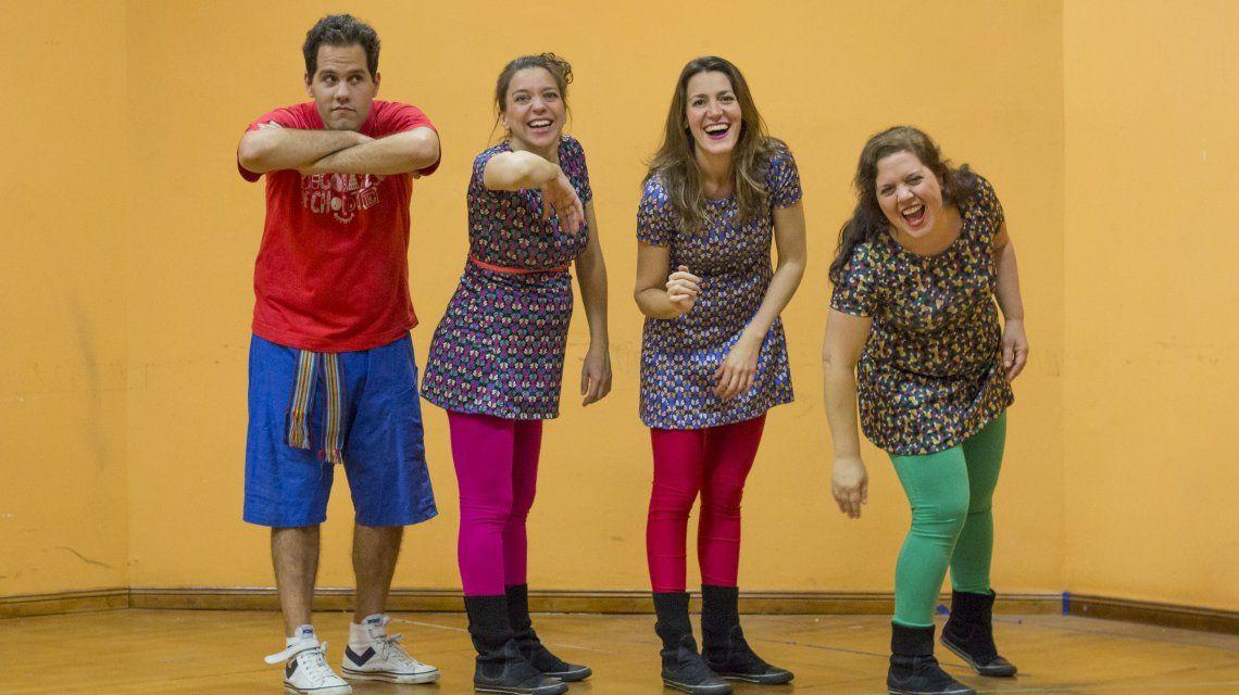 Bigolates de Chocote presentan su nuevo disco en el teatro Paseo La Plaza
