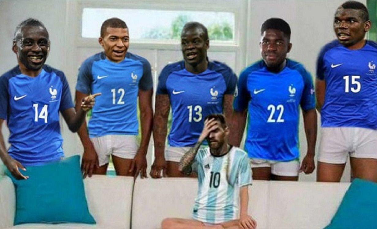 Los memes de la eliminación de la Selección argentina