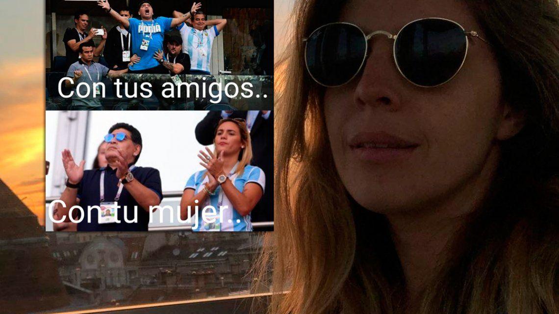¿Dalma trató de mufa a Rocío Oliva?