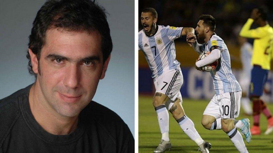 El audio del relator chileno que enloqueció con el agónico triunfo argentino ante Nigeria