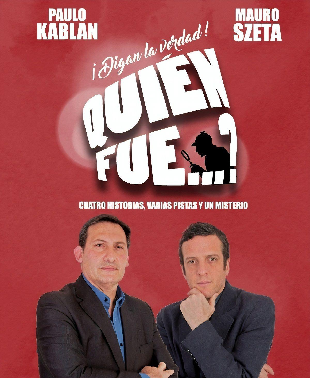 Paulo Kablan y Mauro Szeta vuelven al Paseo la Plaza