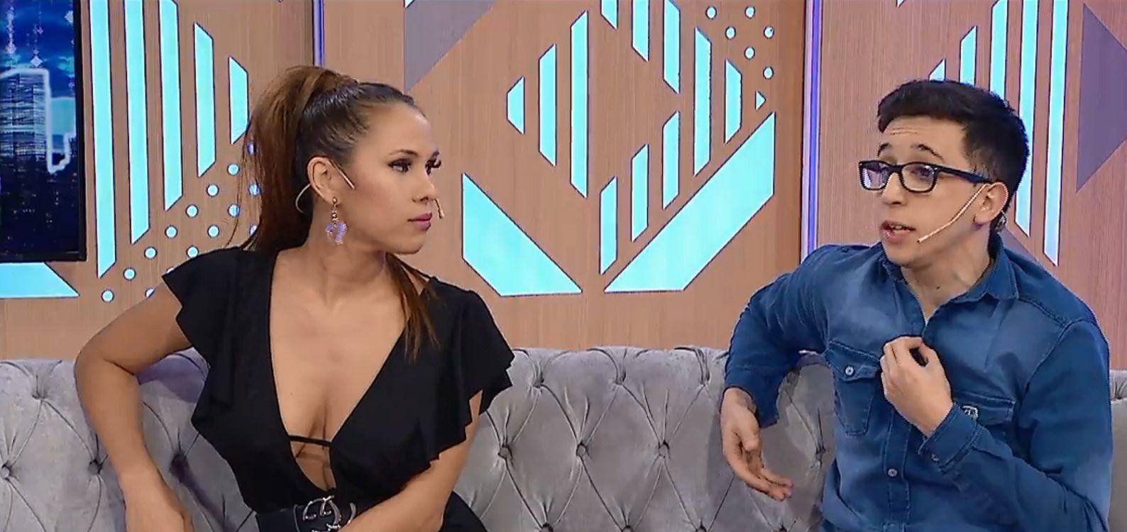 VIDEO: la incomodidad de Barby Silenzi y Rodrigo Noya intentando desmentir su romance