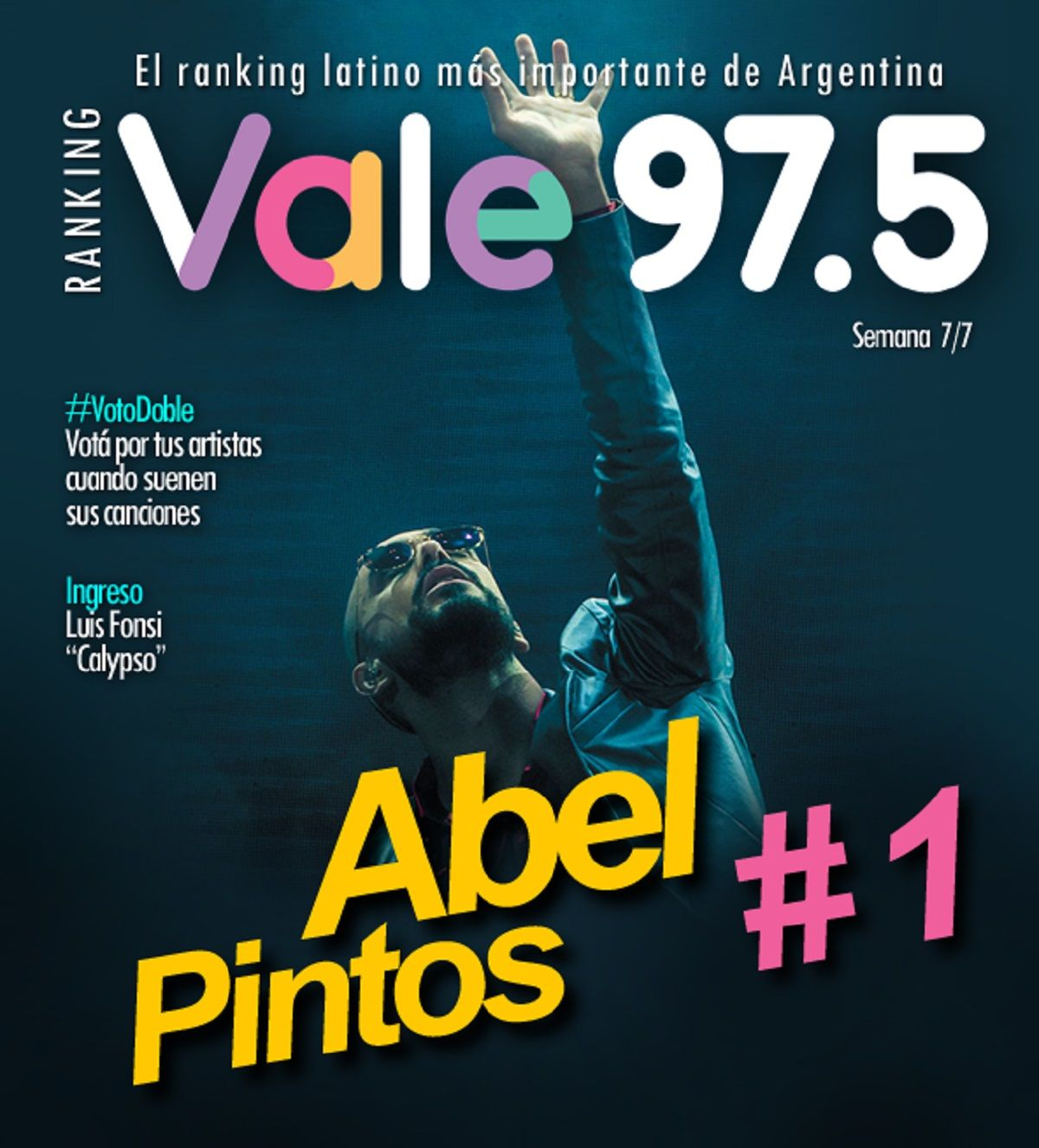 Abel Pintos llegó a lo más alto del Ranking Vale