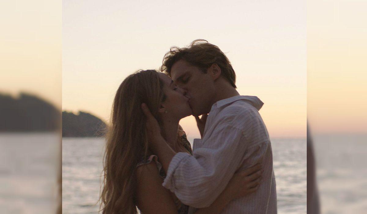 El tan esperado beso entre Erika y Luis Miguel