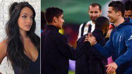 Oriana Sabatini y Paulo Dybala, felices por la llegada de Cristiano Ronaldo a la Juventus