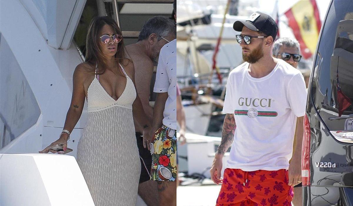 El álbum de las vacaciones de Lionel Messi y Antonela Rocuzzo en Ibiza