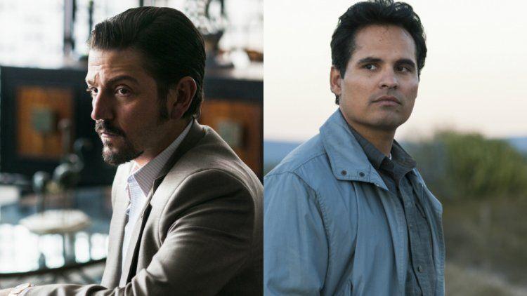 Diego Luna y Michael Peña en Narcos: México