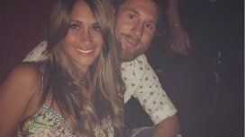 Anto y Messi, felices en Ibiza