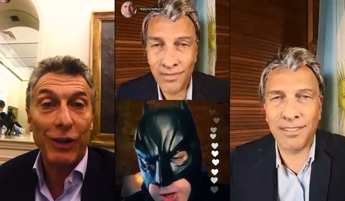 VIDEO: La bizarra imitación de Fredy Villarreal del Instagram Live de Macri