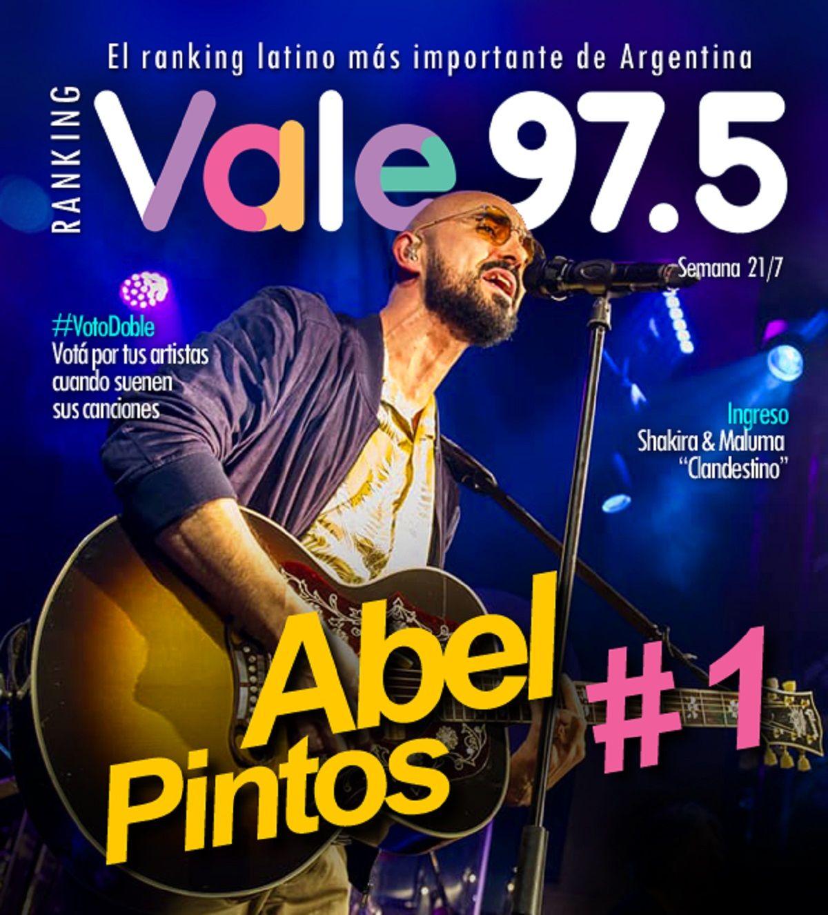 Abel Pintos, imparable en el Ranking Vale