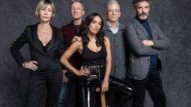 Inés Estévez, Daniel Fanego, Lali Espósito, Gerardo Romano y Leonardo Sbaraglia