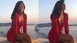El detalle que llamó la atención en las fotos de Oriana Sabatini