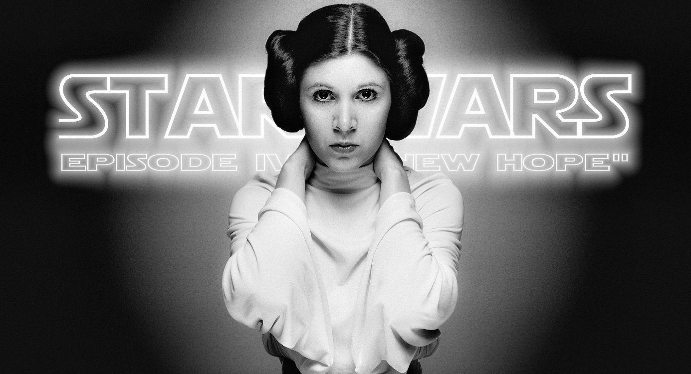 Carrie Fisher aparecerá en Star Wars: episodio IX
