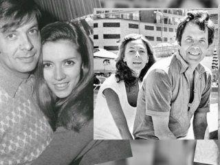 Nora Cárpena y Guillermo Bredeston con el paso de los años